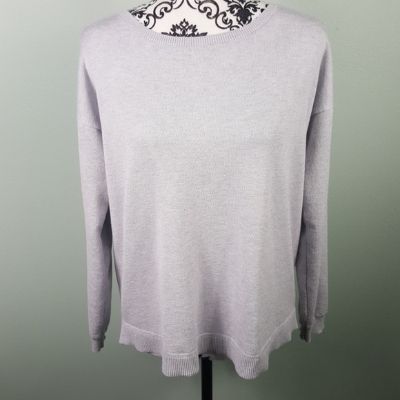 Cable & Gauge Sweaters - Cable & Gauge sweater size medium light gray